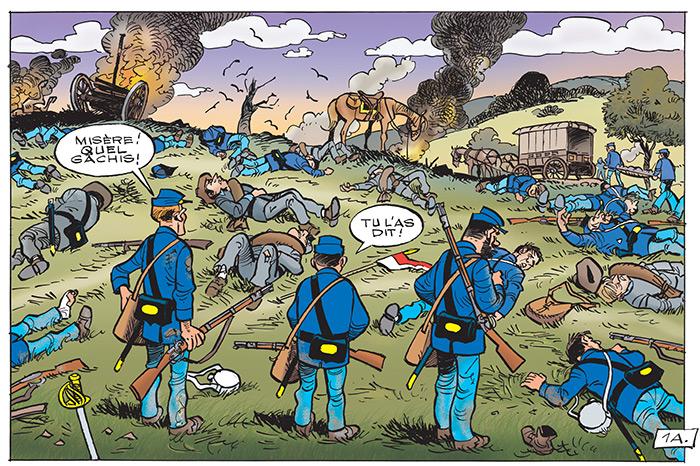 bataille tuniques bleues